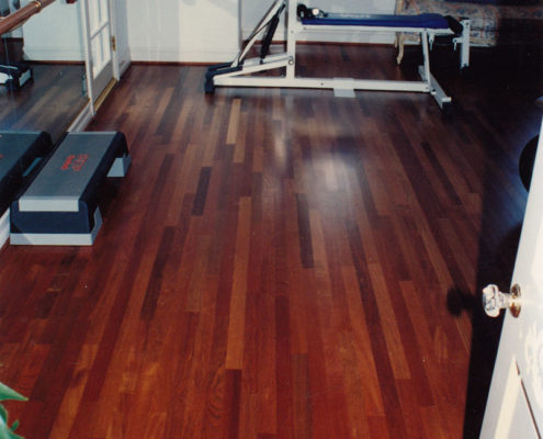 Brazilian Cherry Strip flooring
