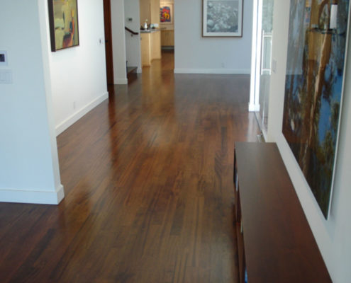Brazilian Cherry with Spice Brown stain
