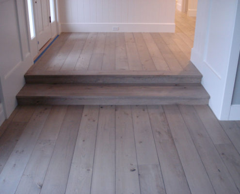 Engineered European White Oak.