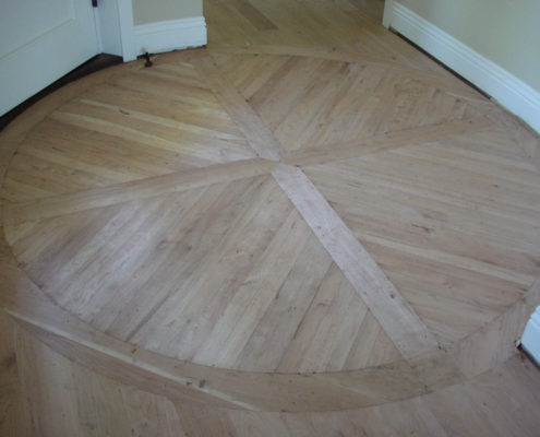 American Cherry Medallion built on site