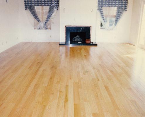 Red Oak Select plank