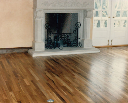 Number 2 Common White Oak Strip Floors